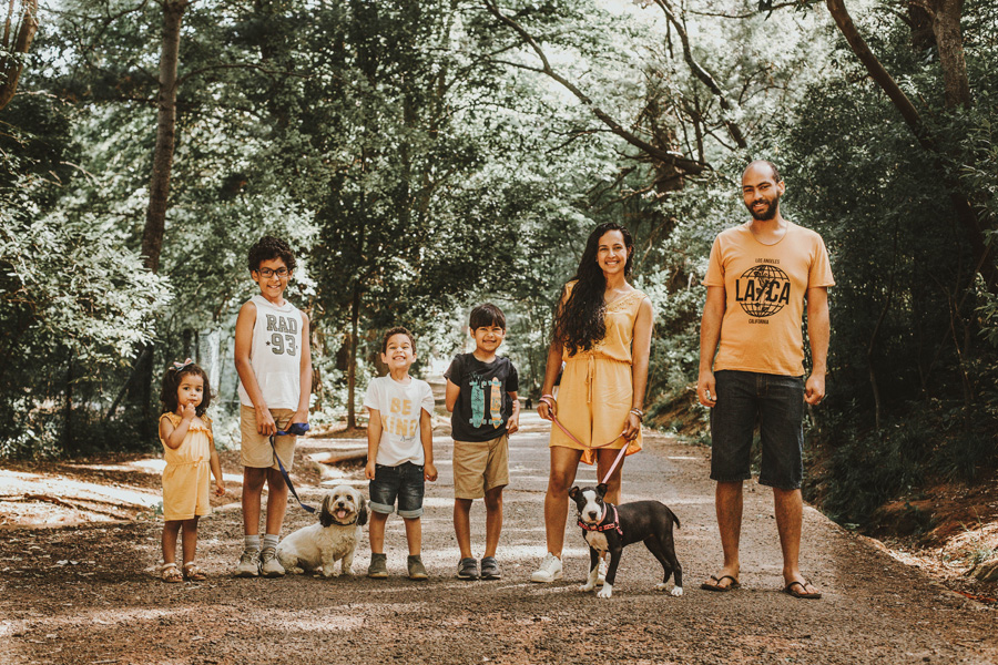 The Ulster Family | Newlands Forest Cape Town