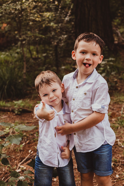 newlands forest family shoot