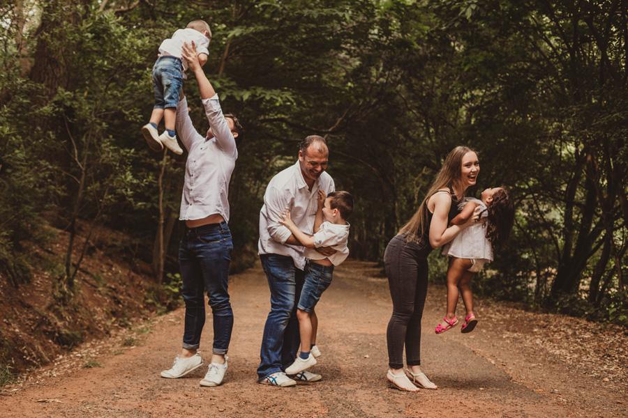 family photo shoot cape town