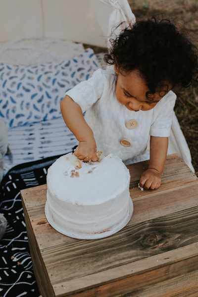 outdoor cake smash cape town