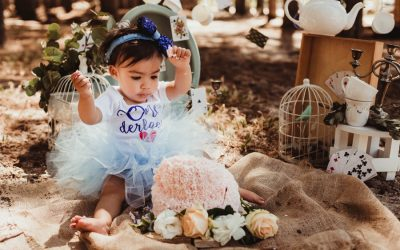 Alice in ONEderland Cake Smash | Tokai Forest | Cape Town Photographer