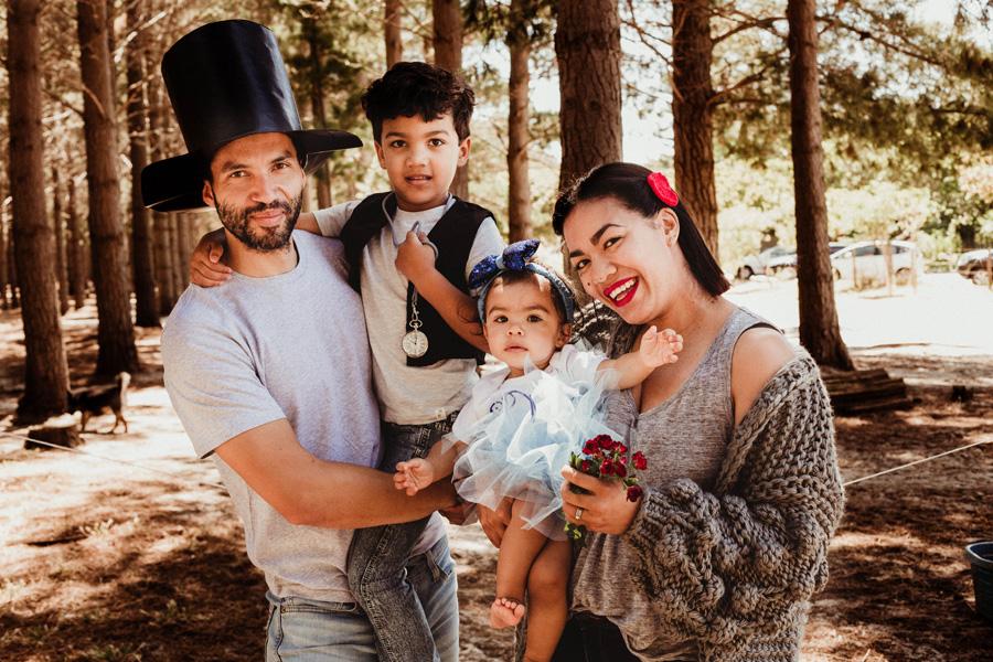family photo shoot cape town tokai forest