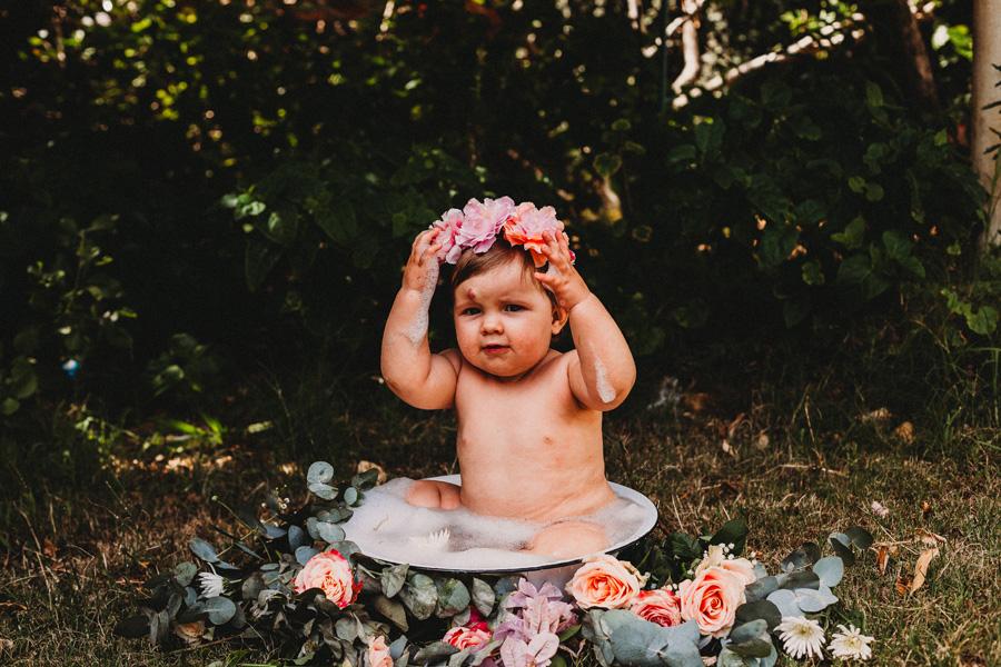 bubble bath cape town photo shoot